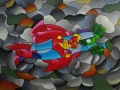 Gunnar superman cubism