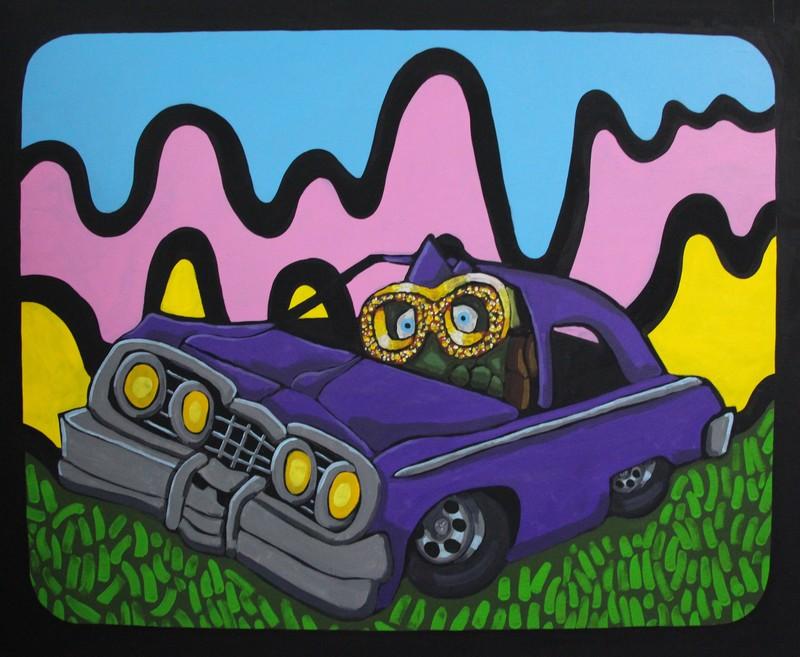 Gunnar's driving Impala