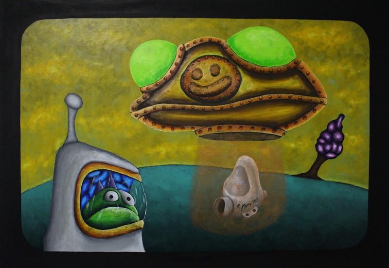 Steampunk UFO